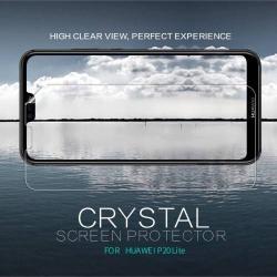 NILLKIN képernyővédő fólia - CRYSTAL HD Clear - 1db, törlőkendővel - HUAWEI P20 lite (2018) / HUAWEI Nova 3e - GYÁRI