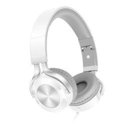 SOUND INTONE i9 sztereó fejhallgató / headset - FEHÉR - 3,5mm Jack, összecsukható - GYÁRI