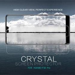 NILLKIN képernyővédő fólia - CRYSTAL HD Clear - 1db, törlőkendővel - HUAWEI P20 Pro (2018) - GYÁRI