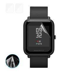 HAT PRINCE képernyővédő fólia - Ultra Clear - 2db, törlőkendővel - Huami Amazfit Bip
