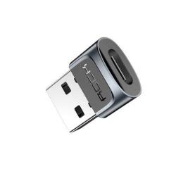ROCK Type-C Female / USB Male átalakító adapter - GYÁRI