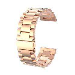 Okosóra szíj - rozsdamentes acél, csatos - ROSE GOLD - Garmin Fenix 3