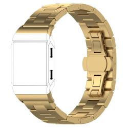 Okosóra szíj - rozsdamentes acél, csatos - ARANY - Fitbit Ionic
