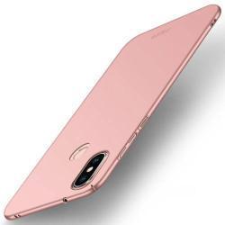 MOFI SHIELD SLIM műanyag védő tok / hátlap - 0,9mm vékony! - ROSE GOLD - Xiaomi Redmi 6 Pro / Xiaomi Mi A2 Lite - GYÁRI