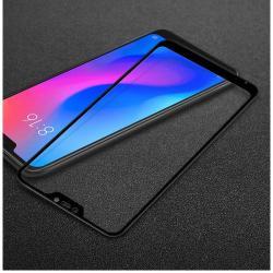 IMAK előlap védő karcálló edzett üveg - FEKETE - 9H - Xiaomi Redmi 6 Pro / Xiaomi Mi A2 Lite - A TELJES KIJELZŐT VÉDI! - GYÁRI