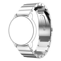 Okosóra szíj - EZÜST - rozsdamentes acél, csatos - HUAWEI Watch 2
