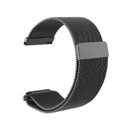 Okosóra szíj - rozsdamentes acél, mágneses - FEKETE - HUAWEI TalkBand B5