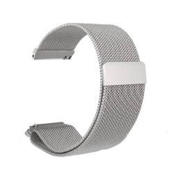 Okosóra szíj - rozsdamentes acél, mágneses - EZÜST - HUAWEI TalkBand B5