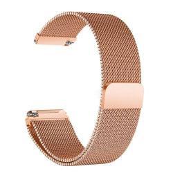 Okosóra szíj - rozsdamentes acél, mágneses - ROSE GOLD - HUAWEI TalkBand B5