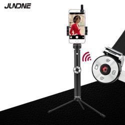 Selfie bot és tripod állvány - Beépített Bluetooth kioldóval, 360 fokban forgatható bölcső, 24-95cm-ig állítható, makró és nagy látószögű lencse, 4-6,5