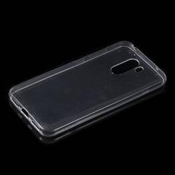 Szilikon védő tok / hátlap - ÁTLÁTSZÓ - Xiaomi Pocophone F1