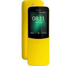 Nokia 8110 4G, Dual Sim, sárga
