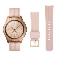 Okosóra szíj - szilikon - BÉZS - SAMSUNG Galaxy Watch 42mm
