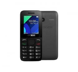 Alcatel OT-1054/SL, Charcoal Black + Domino Fix Quick SIM