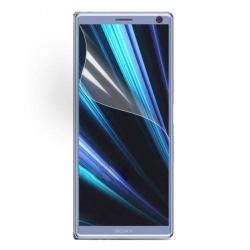 Képernyővédő fólia - Ultra Clear - 1db, törlőkendővel - SONY Xperia XA3