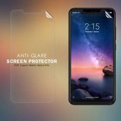 NILLKIN képernyővédő fólia - Anti-Glare - MATT! - 1db, törlőkendővel - Xiaomi Redmi Note 6 Pro - GYÁRI