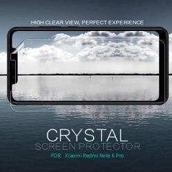 NILLKIN képernyővédő fólia - Crystal Clear - 1db, törlőkendővel - Xiaomi Redmi Note 6 Pro - GYÁRI