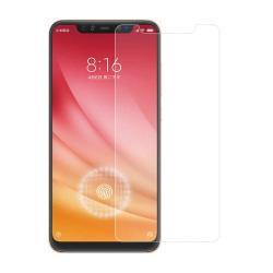Előlap védő karcálló edzett üveg - 0,3 mm vékony, 9H, Arc Edge - Xiaomi Mi 8 / Xiaomi Mi 8 Explorer / Xiaomi Mi 8 Pro