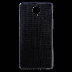 Szilikon védő tok / hátlap - ULTRAVÉKONY! 0,6mm - ÁTLÁTSZÓ - OnePlus 3 / OnePlus 3T