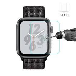 HAT PRINCE előlap védő karcálló edzett üveg - 2db - 0,2 mm vékony, 9H, 2.15D - APPLE Watch Series 4 44mm
