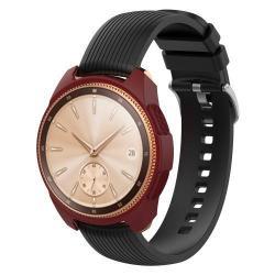 Okosóra szilikontok - BORDÓ - SAMSUNG SM-R810NZ Galaxy Watch 42mm