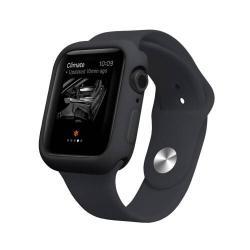 Okosóra szilikontok - FEKETE - APPLE Watch Series 4 40mm