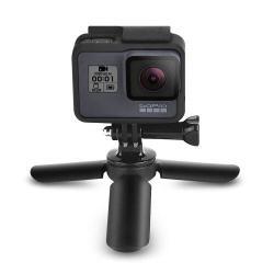 Mini TRIPOD állvány Gopro Sport kamerákhoz - állítható magasság 5,5 - 10,5cm-ig, CSAK AZ ÁLLVÁNY TARTOZÉK! - FEKETE