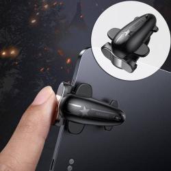 BASEUS érintőképernyő ravasz - PUBG, FPS, STG, TPS játékokhoz, egyszerre 4 ujjal játszhat - FEKETE