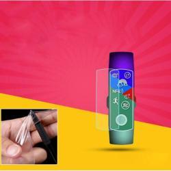 Okosóra TPU képernyővédő fólia - CLEAR - 1db, törlőkendővel - A TELJES ELŐLAPOT VÉDI! - HUAWEI Honor Band 4 NFC Edition