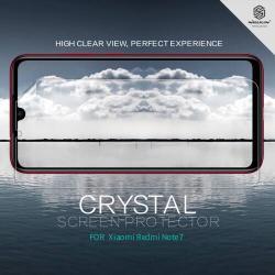 NILLKIN képernyővédő fólia - Crystal Clear - 1db, törlőkendővel - Xiaomi Redmi Note 7 / Xiaomi Redmi Note 7 Pro - GYÁRI
