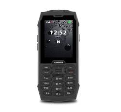 myPhone Hammer 4, Dual SIM, fekete-ezüst