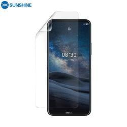 NOKIA 8.3 5G (2020)SUNSHINE Hydrogel TPU képernyővédő fólia - Ultra Clear, ÖNREGENERÁLÓ! - 1db, TOKBARÁT - NOKIA 8.3 5G (2020) - GYÁRI