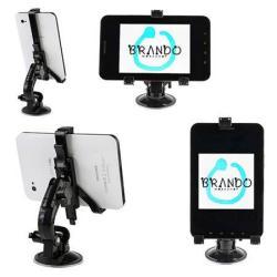SAMSUNG P1000 Galaxy Tab gépkocsi / autó tartó - BRANDO - (forgatható tapadókorongos szélvédõtartóval)