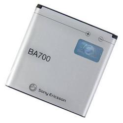 SONYERICSSON akku 1500 mAh LI-Polymer - BA700 - SONYERICSSON XPERIA Neo (MT15i)/SONYERICSSON XPERIA Neo V (MT11i) - GYÁRI - Csomagolás nélküli