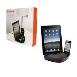 APPLE asztali töltő DUAL - GC23126 - GYÁRI - GRIFFIN TECHNOLOGY (iPAD és iPhone egyidőben)