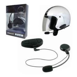MOTOROS BLUETOOTH headset/james bond bukósisakhoz (vízálló, 150 m -ig használható egymás között) multipoint - GYÁRI