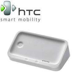 HTC One X dokkoló / asztali töltő és adatátviteli állvány - CR S650 - beépített hangszóróval - FEHÉR - GYÁRI