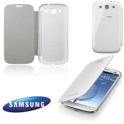 Tok, Flip, oldalra nyíló - EFC-1G6FWEC - FEHÉR - GYÁRI - SAMSUNG GT-i9300 Galaxy S III.