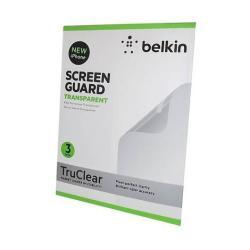 APPLE IPhone 5 képernyővédő fólia törlőkendővel - BELKIN CLEAR - F8W179CW3 - 3 db-os csomag - GYÁRI