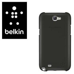 BELKIN SNAP SHIELD SHEER műanyag védő tok / hátlap - SAMSUNG GT-N7100 Note II - F8M505VFC00 - FEKETE - GYÁRI