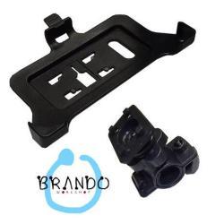 BRANDO telefon tartó kerékpár / bicikli / kormányra rögzíthetõ - NOKIA Lumia 920 - SMISC022800 - gyári