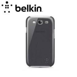 BELKIN SNAP SHIELD SHEER Műanyag védő tok/hátlap - SAMSUNG GT-I8190 Galaxy SIII. Mini - F8M543VFC00 - FEKETE - GYÁRI
