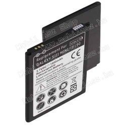Akku 1900 mAh LI-ION - EXTRA KAPACITÁS! - SAMSUNG GT-I8190 Galaxy S III mini