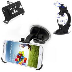 Fix karos gépkocsi / autóS tartó (szélvédõre helyezhetõ/tapadókorongos) - SAMSUNG GT-I9500 Galaxy S IV.