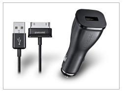 Samsung P1000 Galaxy Tab/P1010 Galaxy Tab gyári szivargyújtó töltő - ECA-P10C