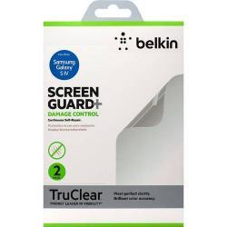 BELKIN DAMAGE CONTROL képernyővédő fólia törlőkendővel - 2 db-os, karcálló / önregeneráló - F8M599VF2 - GYÁRI - SAMSUNG GT-I9500 / I9502 / I9505 Galaxy S IV.