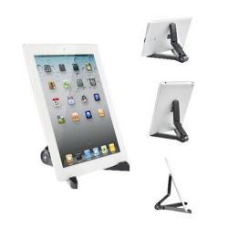 UNIVERZÁLIS Tablet PC tartó / asztali állvány - FEKETE