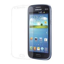 Képernyővédő fólia - Clear - 1db, törlőkendővel - Utángyártott - SAMSUNG GT-I8260 Galaxy Core / SAMSUNG GT-I8262 Galaxy Core DUOS