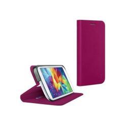 BELKIN CLASSIC FOLIO BASIC notesz tok - oldalra nyíló flip, asztali tartó funkció, bankkártya méretű tartós - MAGENTA - F8M921B1C02 - SAMSUNG SM-G900F Galaxy S5 / SAMSUNG SM-G901F Galaxy S5 LTE-A - GYÁRI