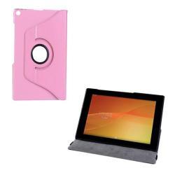 SONY Xperia Z2 TabletNotesz  flip tok - oldalra nyíló , asztali tartó funkció, 360°-ban forgatható - RÓZSASZÍN - SONY Xperia Tablet Z2